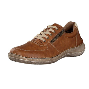Rieker Mens 03030-25 Brown Trainer Shoes